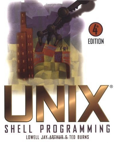 UNIX Shell Programming  4th 1997 (Revised) edition cover