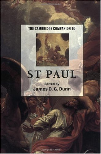 Cambridge Companion to St. Paul   2003 edition cover