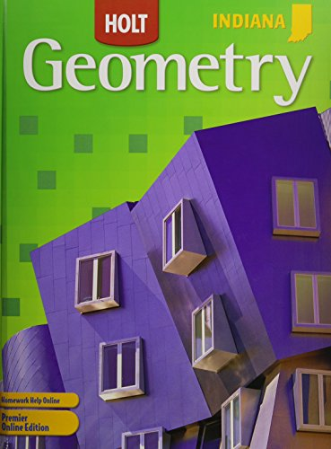 Holt Mcdougal Geometry Indiana Student Edition 2011  2009 9780547258942 Front Cover