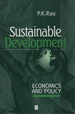 Sustainable Development Economics and Policy  2000 edition cover