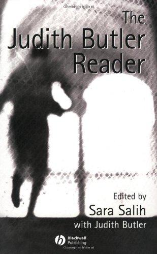 Judith Butler Reader   2004 edition cover
