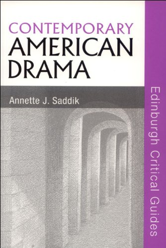 Contemporary American Drama   2007 9780748624942 Front Cover
