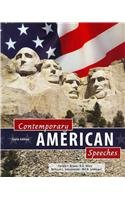 Contemporary American Speeches  10th 2010 (Revised) 9780757576942 Front Cover