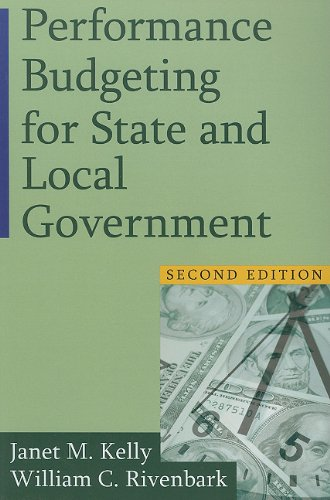 Performance Budgeting for State and Local Government  2nd 2011 (Revised) edition cover
