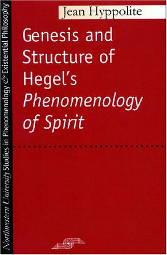 Genesis and Structure of Hegel's Phenomenology of Spirit   1979 edition cover
