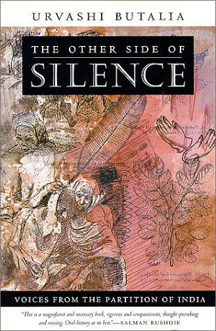 Other Side of Silence Voices from the Partition of India  2000 edition cover