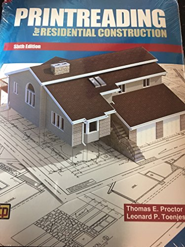 Printreading for Residential Construction 6th 9780826904942 Front Cover