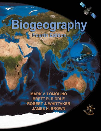 Biogeography 4th 2010 (Revised) edition cover