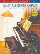 Adult All-In-One Course Lesson - Theory - Solo  1996 edition cover