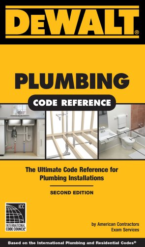 DEWALT� Plumbing Code Reference  2nd 2011 edition cover