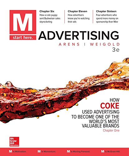 M: Advertising  2017 9781259815942 Front Cover