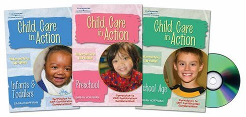 Child Care in Action Infants and Toddlers, Preschool and School Age  2006 9781401825942 Front Cover