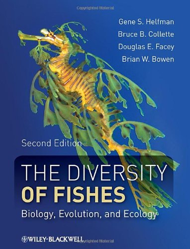 Diversity of Fishes Biology, Evolution, and Ecology 2nd 2009 edition cover