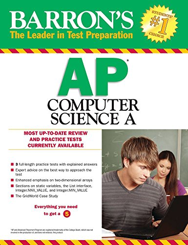AP Computer Science A  7th 2015 (Revised) 9781438005942 Front Cover