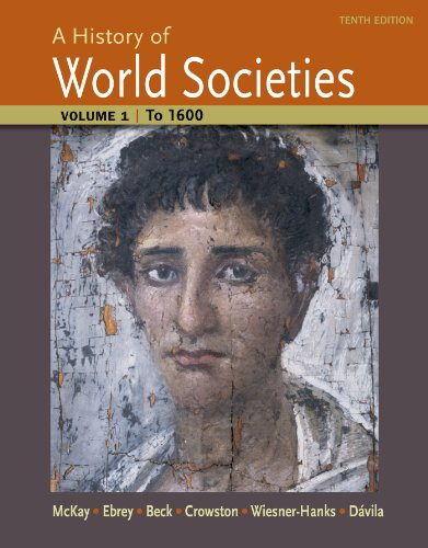 A History of World Societies: To 1600  2014 edition cover