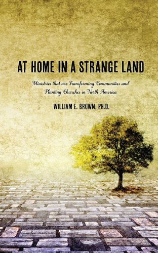 At Home in a Strange Land:   2008 9781935986942 Front Cover