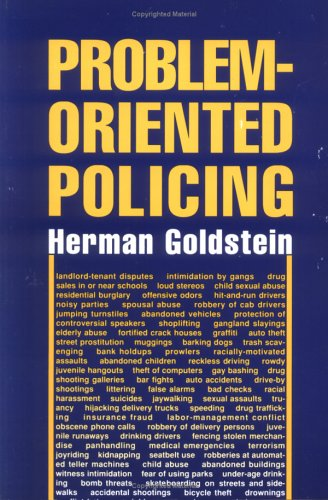 Problem-Oriented Policing   1990 edition cover