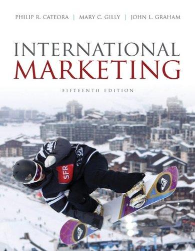 International Marketing  15th 2011 edition cover