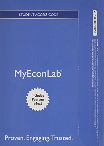 NEW MyEconLab with Pearson EText -- Access Card -- for Microeconomics   2015 edition cover