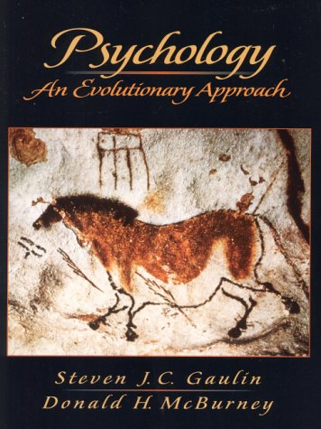 Psychology An Evolutionary Approach  2001 edition cover