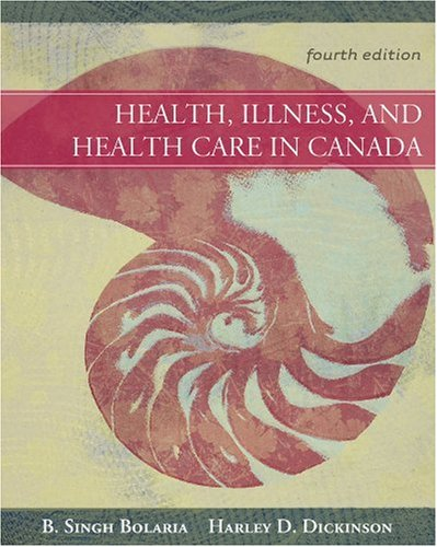 HEALTH,ILLNESS...IN CANADA>CAN 4th 2008 edition cover