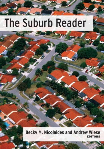 Suburb Reader   2007 edition cover