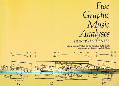 Five Graphic Music Analyses  Reprint edition cover