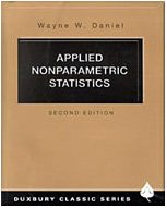 Applied Nonparametric Statistics  2nd 1990 (Revised) 9780534381943 Front Cover
