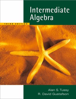 Intermediate Algebra  3rd 2006 (Revised) 9780534493943 Front Cover