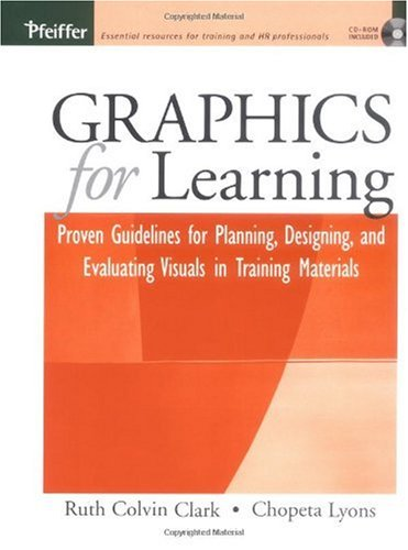 Graphics for Learning Proven Guidelines for Planning, Designing, and Evaluating Visuals in Training Materials  2004 edition cover