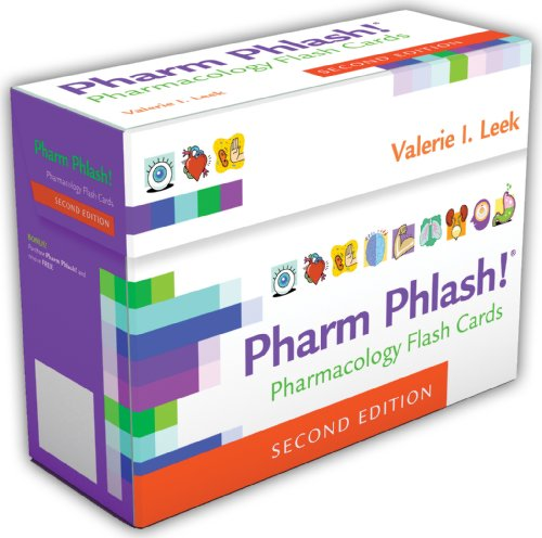 Pharm Phlash! Pharmacology Flash Cards 2nd 2013 (Revised) 9780803629943 Front Cover