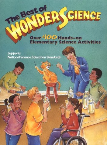 Best of Wonderscience Elementary Science Activities  1997 edition cover