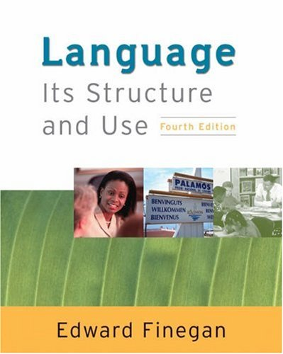 Language Its Structure and Use 4th 2004 edition cover