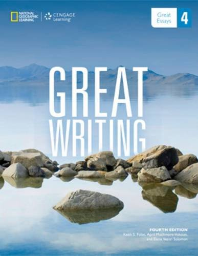Great Writing 4 Great Essays N/A 9781285194943 Front Cover