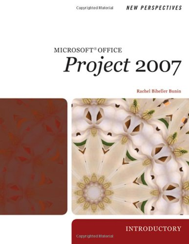 New Perspectives on Microsoft Project 2007 Introductory  2009 9781423905943 Front Cover