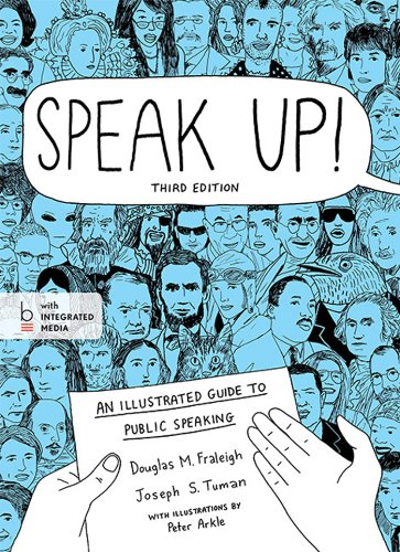 Speak Up!: An Illustrated Guide to Public Speaking  2014 edition cover