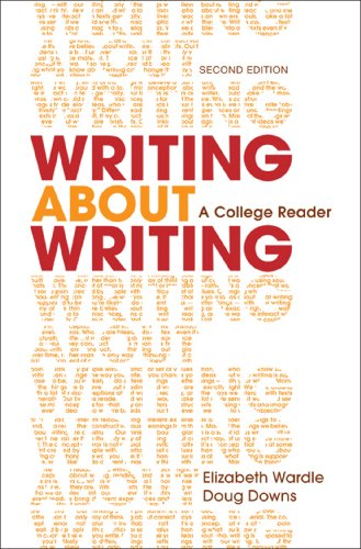 Writing About Writing: A College Reader  2014 9781457636943 Front Cover
