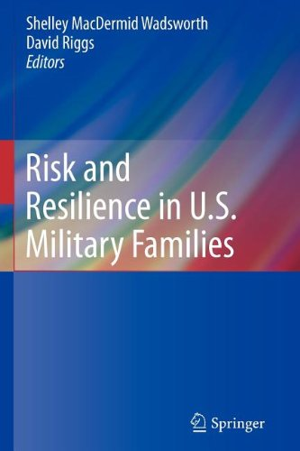 Risk and Resilience in U. S. Military Families   2011 edition cover