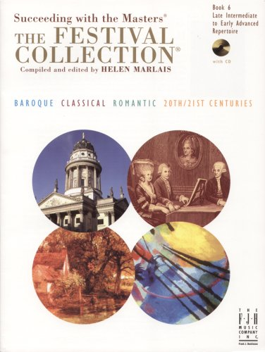 FESTIVAL COLLECTION BOOK 6-W/CD         N/A 9781569395943 Front Cover