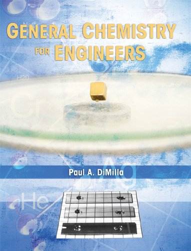 General Chemistry for Engineers   2013 edition cover