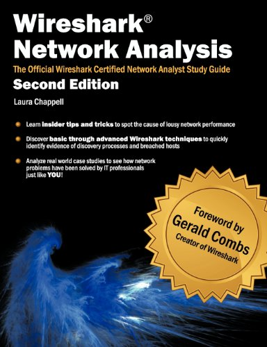 Wireshark Network Analysis The Official Wireshark Certified Network Analyst Study Guide 2nd 2012 edition cover