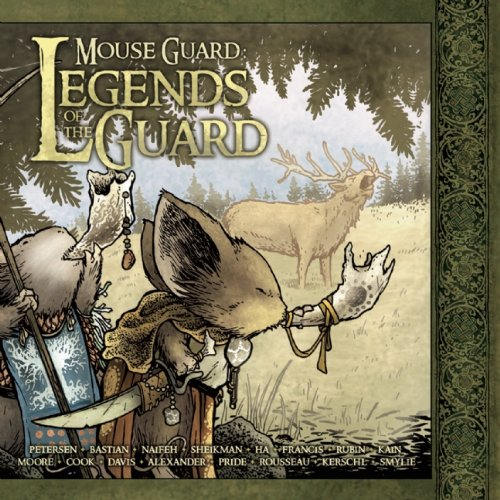 Mouse Guard: Legends of the Guard Volume 1   2010 9781932386943 Front Cover
