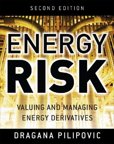 Energy Risk Valuing and Managing Energy Derivatives 2nd 2007 (Revised) edition cover