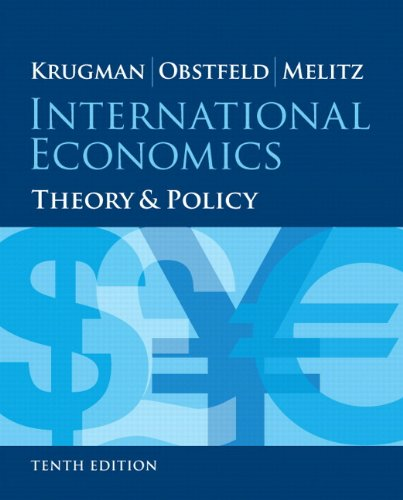 International Economics Theory and Policy Plus NEW MyEconLab with Pearson EText (2-Semester Access) -- Access Card Package 10th 2015 edition cover
