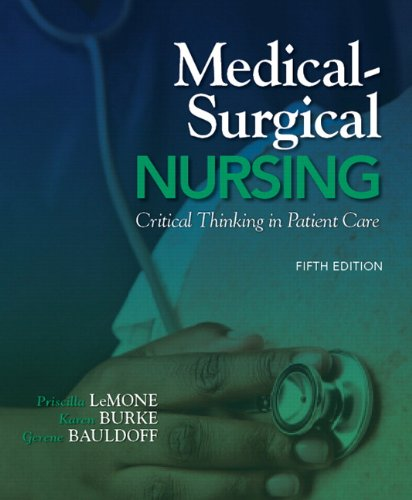 Medical-Surgical Nursing Critical Thinking in Patient Care 5th 2011 (Revised) edition cover