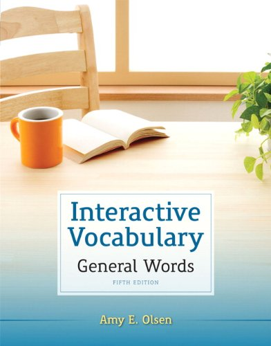 Interactive Vocabulary  5th 2013 edition cover