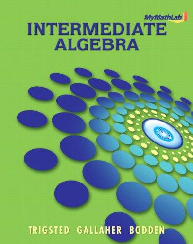 Intermediate Algebra   2011 (Student Manual, Study Guide, etc.) edition cover