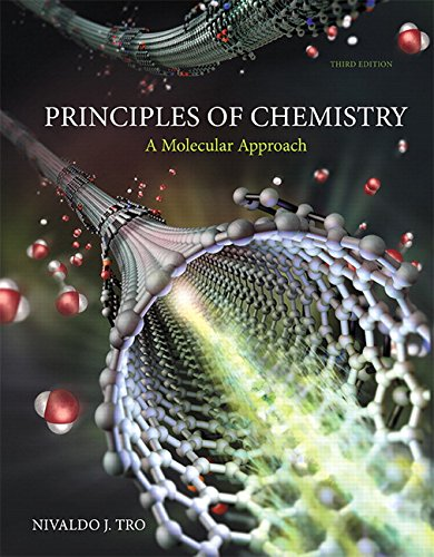 Principles of Chemistry: A Molecular Approach  2015 9780321971944 Front Cover