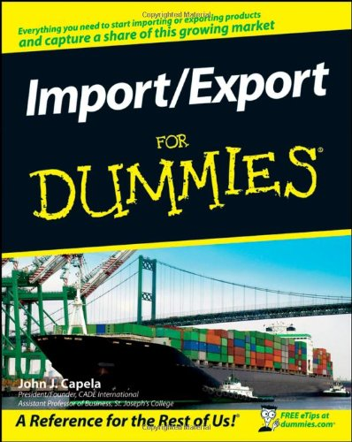 Import / Export for Dummies   2008 edition cover