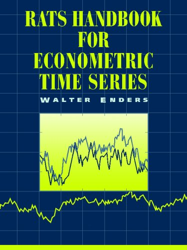 RATS Handbook for Econometric Time Series   1996 edition cover